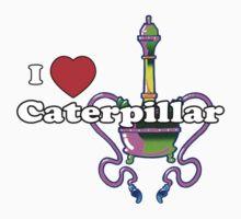 I Heart Caterpillar Kids Tee