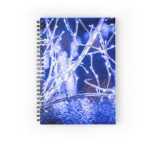 Winter Wonderland - Lights, Frozen, Water, Ice #1  Spiral Notebook