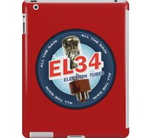 EL34 Electron Tubes iPad Case/Skin
