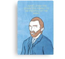 Vincent Van Gogh. Canvas Print