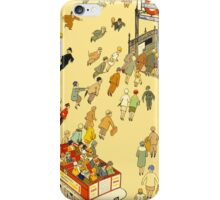 The Lure of the Underground London Vintage Travel Poster iPhone Case/Skin