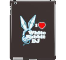 I Heart White Rabbit DJ iPad Case/Skin