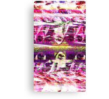 Glitch Reaper Canvas Print
