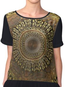 Center Women's Chiffon Top