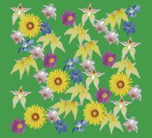 Wildflowers One Piece - Short Sleeve