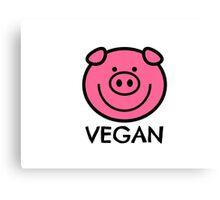 Vegan Canvas Print