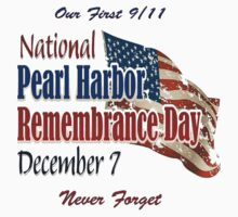 Pearl Harbor Remembrance Day Logo One Piece - Short Sleeve