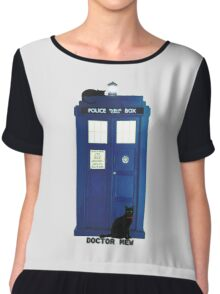 Doctor Mew Chiffon Top