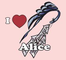 I Heart Alice Kids Tee