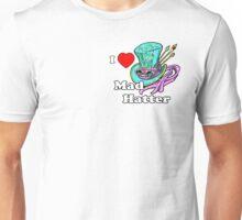 I Heart Mad Hatter Unisex T-Shirt