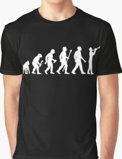 Trumpet Evolution Of Man Graphic T-Shirt