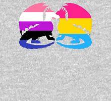 Genderfluid Pansexual Pride Dragons Unisex T-Shirt