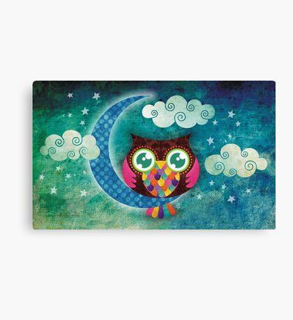 My Crescent Owl Canvas Print