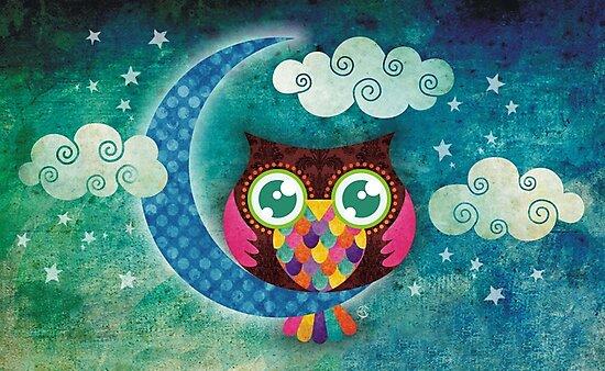 My Crescent Owl by sandygrafik