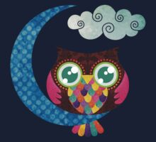 My Crescent Owl Kids Tee