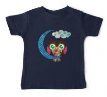 My Crescent Owl Baby Tee