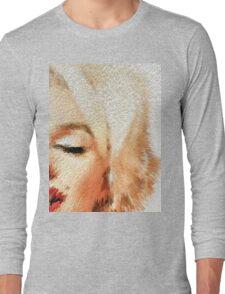 Modern Marilyn - Marilyn Monroe Art by Sharon Cummings Long Sleeve T-Shirt