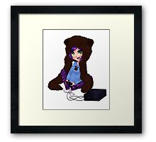 BrittanyBearPaws - Console Framed Print