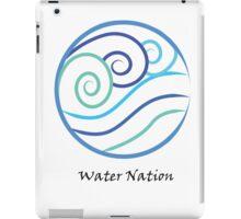 Water Nation Symbol iPad Case/Skin