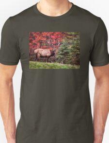 Elk Country Autumn Unisex T-Shirt