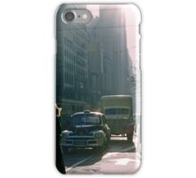 Corner of Collins and Elizabeth Streets iPhone Case/Skin