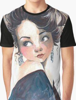 That shoulder! Graphic T-Shirt