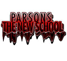 Parsons The New School Drippy  Photographic Print
