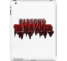 Parsons The New School Drippy  iPad Case/Skin