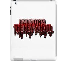 Parsons The New School Drippy  iPad Case/Skin