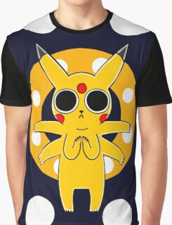 Pikachu's Trip - one circle Graphic T-Shirt