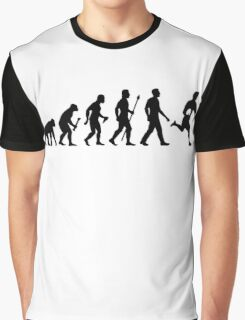 Evolution of Rugby  Graphic T-Shirt