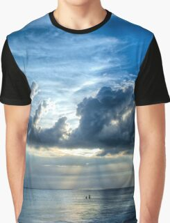 In Heaven's Light - Beach Ocean Art by Sharon Cummings Graphic T-Shirt