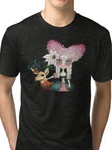 Noelle's Winter Magic Tri-blend T-Shirt