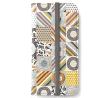 urban jungle squares iPhone Wallet/Case/Skin