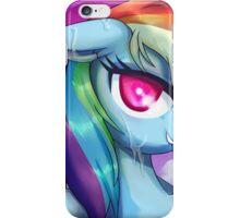 Wet Rainbow Dash iPhone Case/Skin