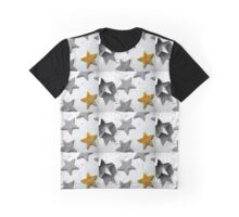 Christmas Cookie Cutter Star Graphic T-Shirt