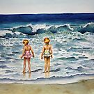 Daddy's Beach Babes by Sherry Cummings