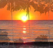 Tropical Spirits - Palm Tree Art By Sharon Cummings Sticker