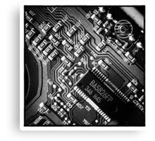 Circuitry Canvas Print