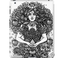 Divine Mother Gea Tree / BW iPad Case/Skin