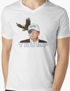PRESIDENT TRUMP Mens V-Neck T-Shirt