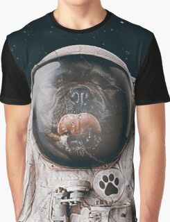Space Dog Graphic T-Shirt
