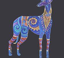 Azawakh Totem by Jezhawk