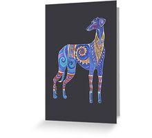 Azawakh Totem Greeting Card
