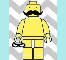 Leggo Man Unmasked by Holly Kempe