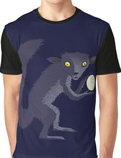 Aye Aye Steals the Moon Graphic T-Shirt