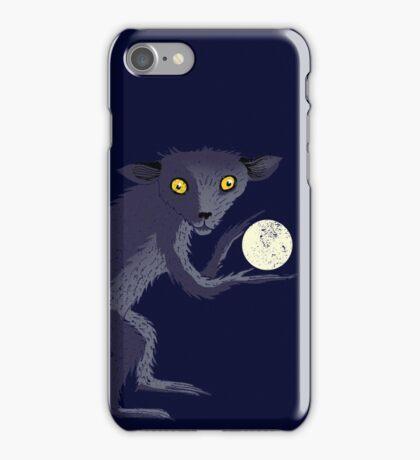 Aye Aye Steals the Moon iPhone Case/Skin