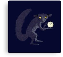 Aye Aye Steals the Moon Canvas Print