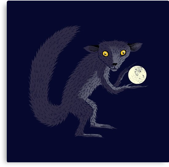 Aye Aye Steals the Moon by SusanSanford