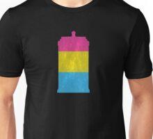 Pansexual Pride Police Box Unisex T-Shirt